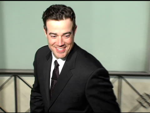 Carson Daly at the Sony / BMG Grammy Awards Party at the Roosevelt Hotel in Hollywood California on February 13 2005