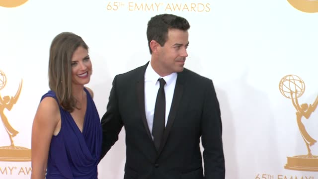 Carson Daly Siri Pinter at 65th Annual Primetime Emmy Awards Arrivals on 9/22/2013 in Los Angeles CA