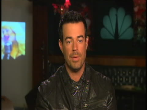 carson daly sot during a crosstalk interview on his new nbc show the voice sot this is what i love to do, i worked at 6 radio stations in california,... - carson daly stock videos & royalty-free footage