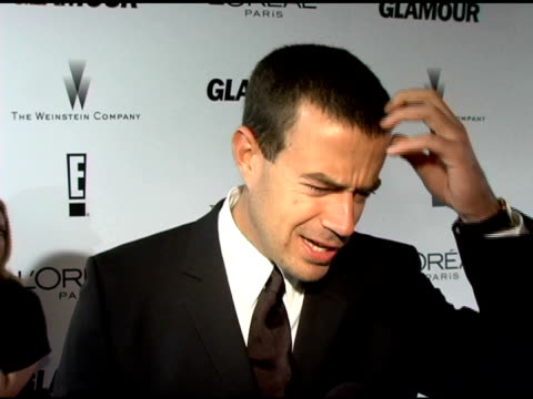 Carson Daly watched the awards on tv he as happy he got to see Jack Bower and Prisonbreak he finds it fun to come to Award Shows when you have...