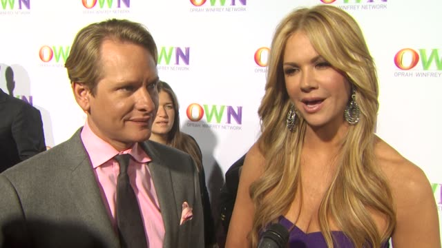 vidéos et rushes de carson kressley nancy o'dell on what it means to them to be a part of oprah's new network what we can expect from their show if they can relate with... - concurrent