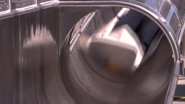 carsten holler 'decision' exhibition at the hayward gallery; man sliding down slide / man sliding down slide - sliding stock videos & royalty-free footage