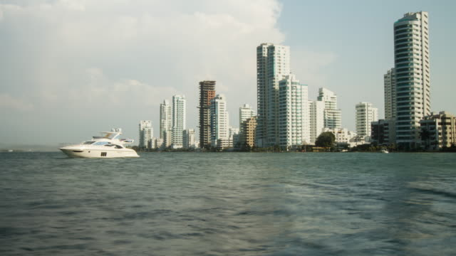 Cartagena de Indias buildings & boat