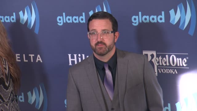 carter covington at the 26th annual glaad media awards at the beverly hilton hotel on march 21 2015 in beverly hills california - the beverly hilton hotel stock videos & royalty-free footage