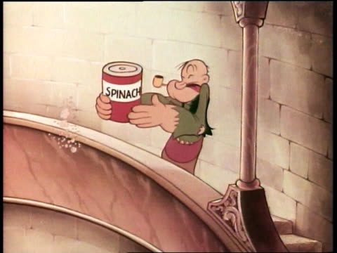 1939 montage cartoon popeye version of aladdin story, popeye as aladdin battling sorcerer's guards, sorcerer throwing lighting - aladdin and the magic lamp stock videos & royalty-free footage