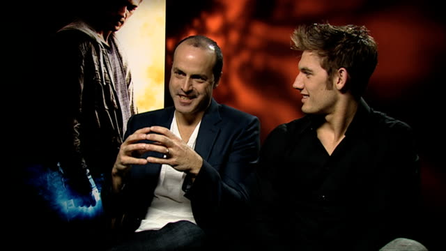 caruso alex pettyfer on what happened to 'number 5' at the i am number 4 interviews at london england - number 5 stock videos & royalty-free footage