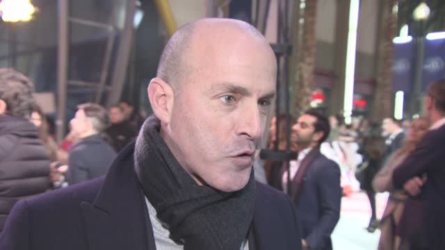 interview d j caruso on working with vin diesel and donnie yen at xxx return of xander cage premiere european premiere at cineworld 02 arean on... - vin diesel stock videos and b-roll footage