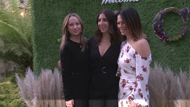 caruso's palisades village welcomes a.l.c. and andrea lieberman hosted by elyse walker & jennifer meyer in los angeles, ca 4/17/18 - モリー・シムズ点の映像素材/bロール