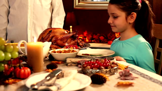 carving thanksgiving turkey - carving food stock videos and b-roll footage