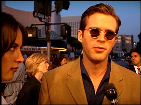 cary elwes at the 'twister' premiere on may 8, 1996. - twister 1996 film stock videos & royalty-free footage