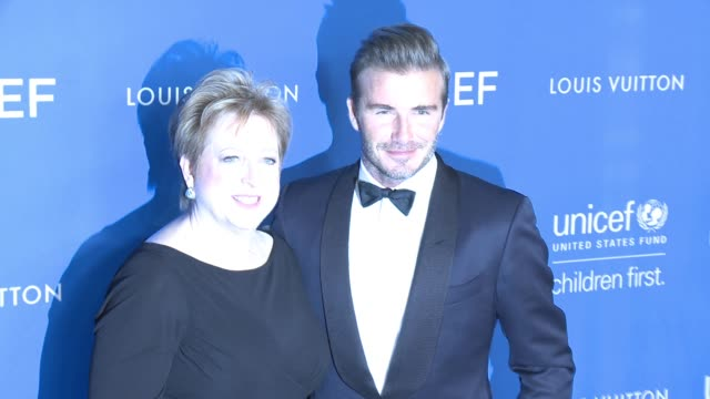 Caryl Stern David Beckham at Sixth Biennial UNICEF Ball Honoring David Beckham and CL Max Mikias Presented by Louis Vuitton in Los Angeles CA