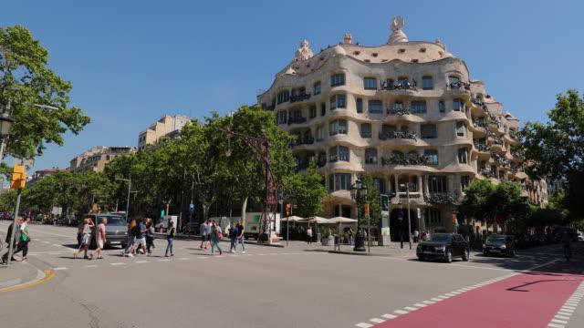 Casa Mila, Barcelona, Spain