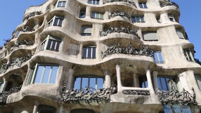 Casa Mila (La Pedrera), building designed by the Catalan architect Antoni Gaudi, Barcelona