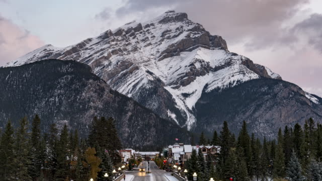 cascade mountain - banff stock videos & royalty-free footage