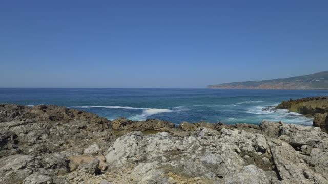 ポルトガルのカスカイス海岸線 - カスカイス点の映像素材/bロール