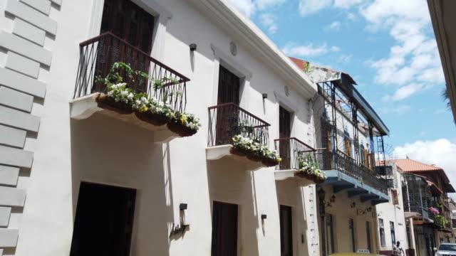 casco viejo - panama city panama stock videos & royalty-free footage