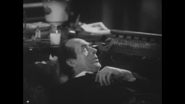 stockvideo's en b-roll-footage met 1929 a case of mistaken identity is revealed - communication problems