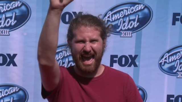 Casey Abrams at American Idol XIII 2014 Finale at Nokia Theatre LA Live on May 21 2014 in Los Angeles California