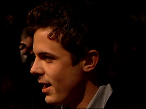 casey affleck at the 200 cigarettes premiere at paramount studios in hollywood california on february 10 1999 - paramount studios stock videos and b-roll footage