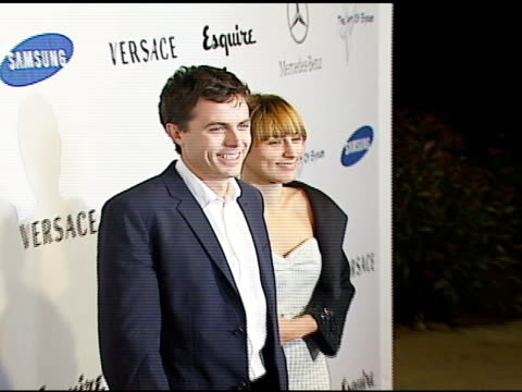 casey affleck at the esquire magazine unveiling of the 'esquire house 360 degrees' with an opening night celebration to benefit 'the art of elysium'... - esquire magazine stock videos & royalty-free footage
