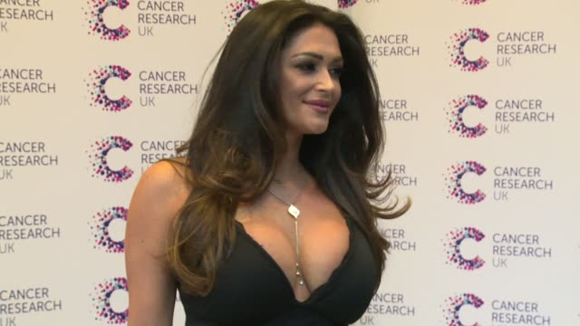 casey batchelor at kensington roof gardens on april 12 2017 in london england - reality fernsehen stock-videos und b-roll-filmmaterial