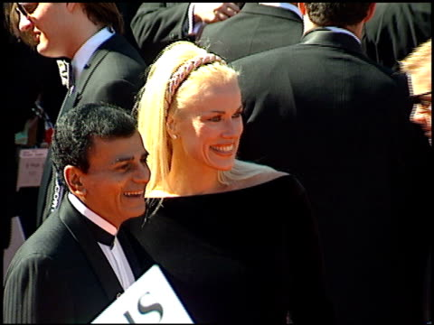 casey kasem at the 1995 emmy awards arrivals at the pasadena civic auditorium in pasadena california on september 10 1995 - pasadena civic auditorium stock videos & royalty-free footage