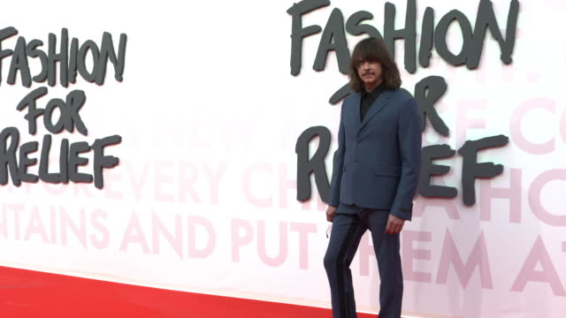 casey spooner at fashion for relief fashion catwalk - the 71st cannes fillm festival at aeroport cannes mandelieu on may 13, 2018 in cannes, france. - カンヌ・マンデリュー空港点の映像素材/bロール