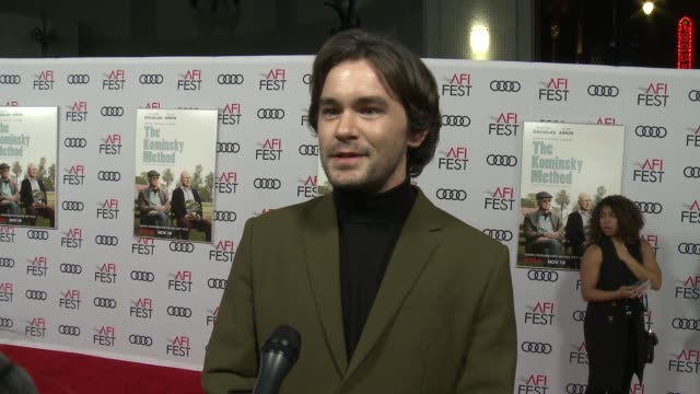 INTERVIEW Casey Thomas Brown at A Netflix Original Series The Kominsky Method Los Angeles Premiere At AFI Fest at TCL Chinese Theatre on November 10...