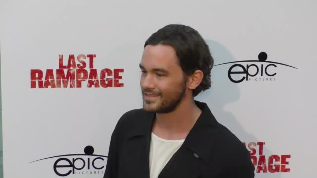 casey thomas brown at the premiere of 'last rampage the escape of gary tison' from epic pictures releasing at arclight cinemas on june 23 2017 in... - arclight cinemas hollywood 個影片檔及 b 捲影像
