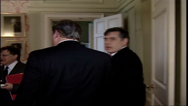 Gordon Brown questioned over Sir Ronald Cohen knighthood FILE / R26606 London Downing Street INT Al Gore greeted by Chancellor Gordon Brown MP as...