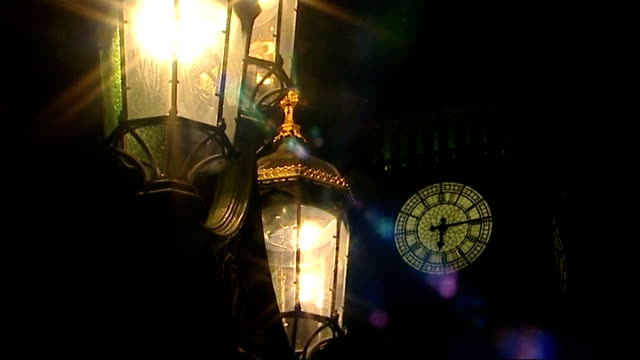 'cash for influence' allegations secret recordings of labour peer released london litup lamps with big ben clock tower in background close up of... - suspicion stock videos & royalty-free footage