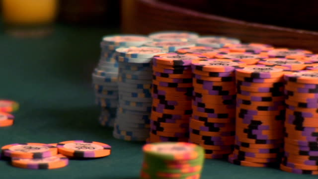 casino chips - gambling chip stock videos and b-roll footage
