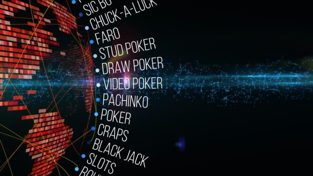 vidéos et rushes de jeux de casino - jouer aux jeux de hasard