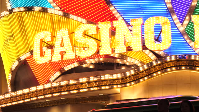 casino light in macau - macao flag stock videos & royalty-free footage