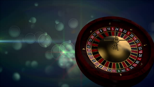 casino roulette loopable - roulette stock videos & royalty-free footage