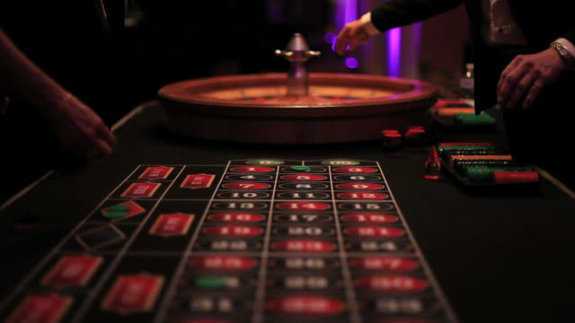 casino roulette table - roulette stock videos and b-roll footage