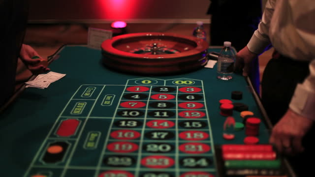 casino roulette table - roulette stock videos & royalty-free footage