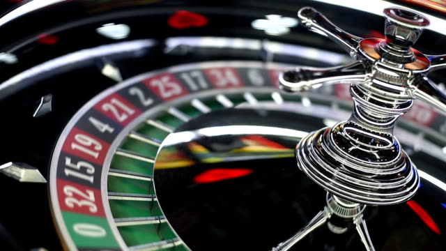 casino roulette - roulette stock videos and b-roll footage