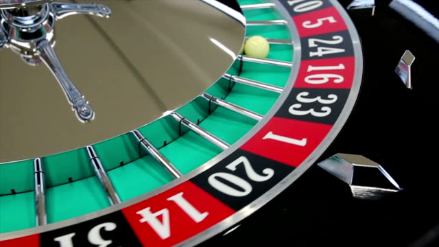 casino roulette wheel with the ball on number 24 - roulette stock videos and b-roll footage
