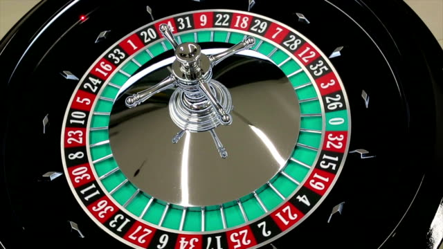 casino roulette wheel with the ball on number 26 - roulette stock videos and b-roll footage