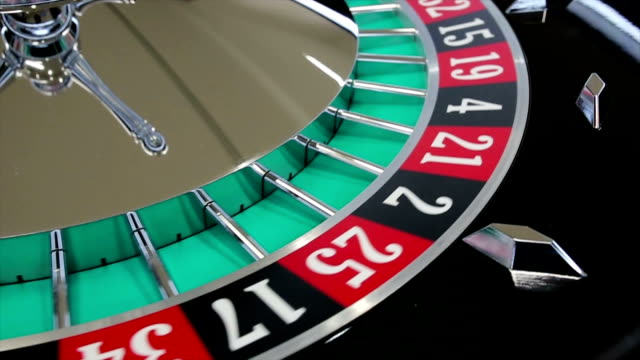 casino roulette wheel with the ball on number 32 - roulette stock videos and b-roll footage