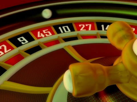 casino roulette, winner - roulette wheel stock videos and b-roll footage