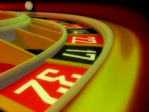 casino roulette, winner - roulette stock videos and b-roll footage