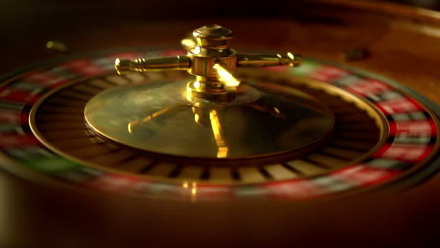casino slo-mo - roulette stock videos and b-roll footage