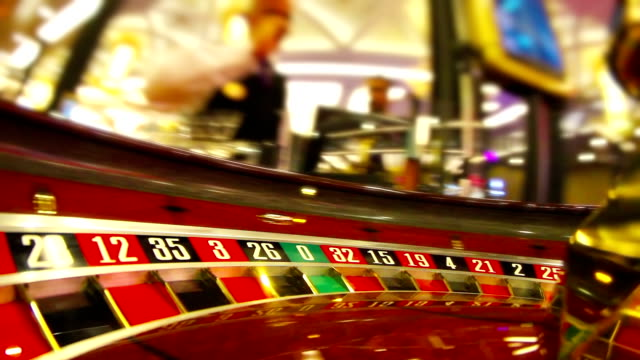 casino - roulette stock videos and b-roll footage