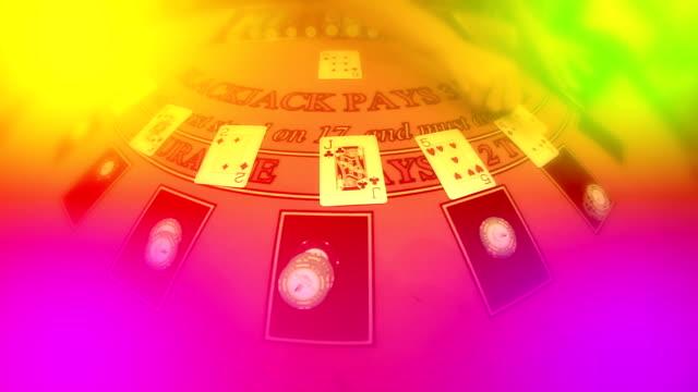 vídeos de stock e filmes b-roll de casino - póquer