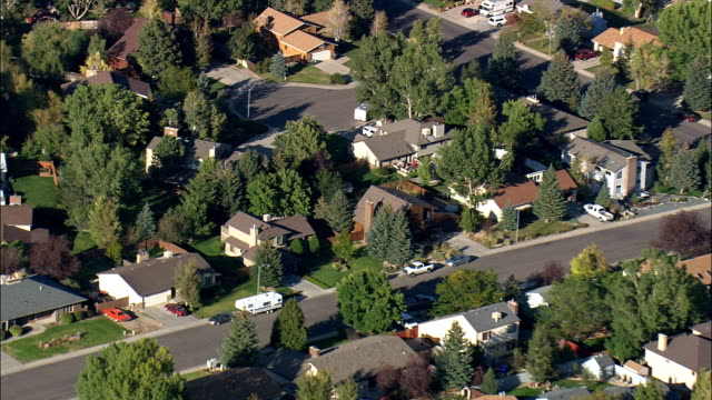 Caspar Suburbs Off Blackmore Road  - Aerial View - Wyoming, Natrona County, United States