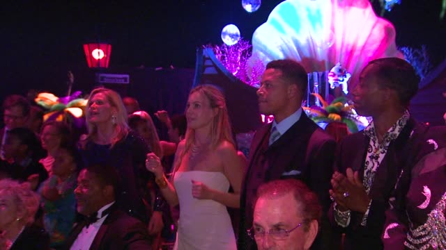 cassandra mann terrence howard at the the alfred mann foundation's annual blacktie gala at santa monica ca - terrence howard stock videos and b-roll footage