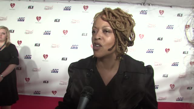 Cassandra Wilson on the event singing a Neil Diamond song at the MusiCaresr 2009 Person Of The Year Tribute at Los Angeles CA
