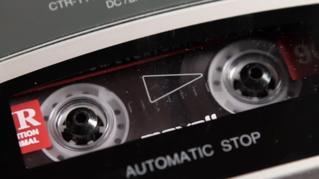 cassette tape recorder - audio equipment stock videos & royalty-free footage
